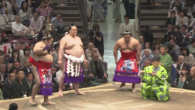 20170514 稀勢の里 土俵入り 初日 時事
