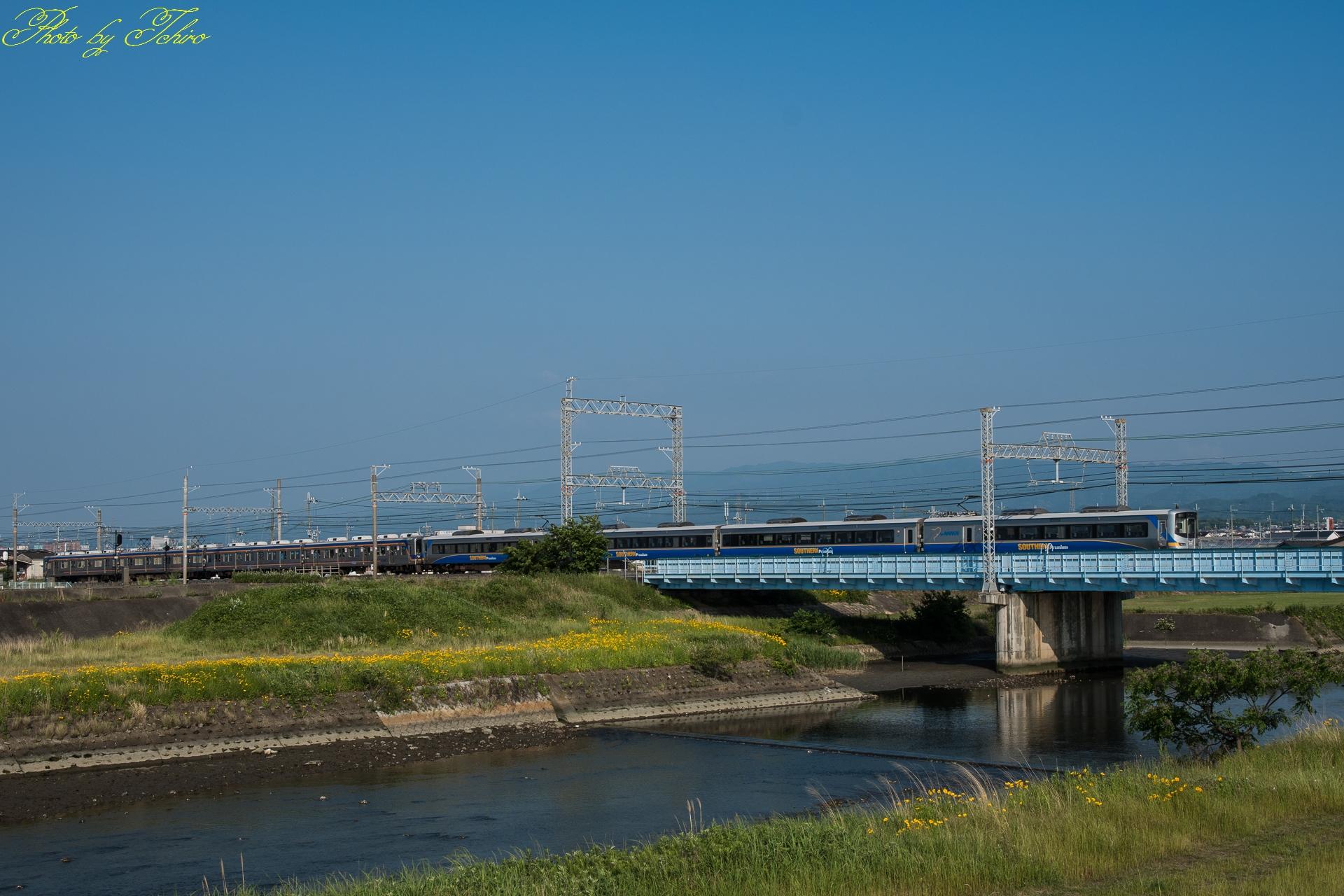 南海本線樫井川鉄橋