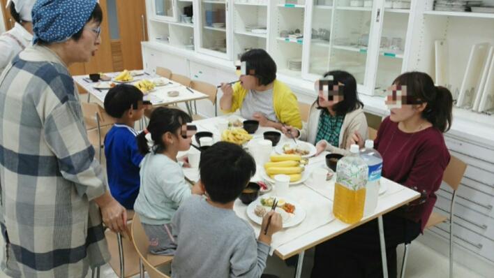 麻機ベーテル子ども食堂 お料理教室