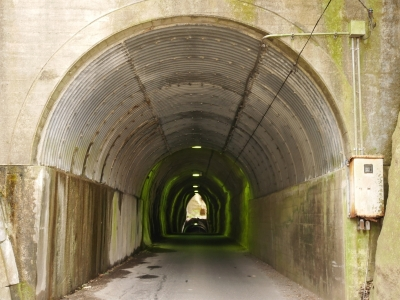 向山 共栄 隧道
