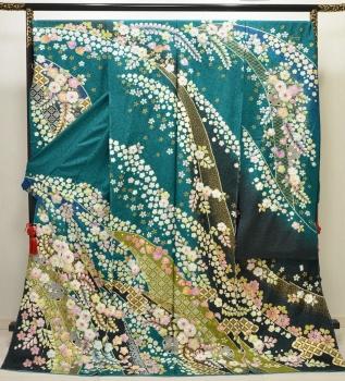 furisode/tokamachi/green