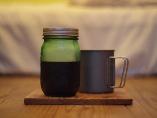 某酢フィールドアイスコーヒー