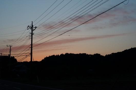いすみの夕日