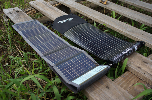 PowerFilm LightSaver + AA Solar Charger