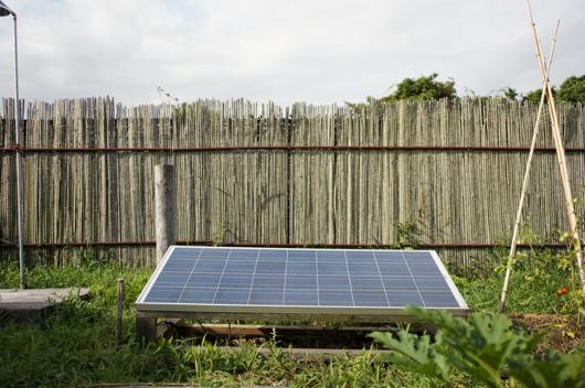 房総フィールド100W Solar Panel