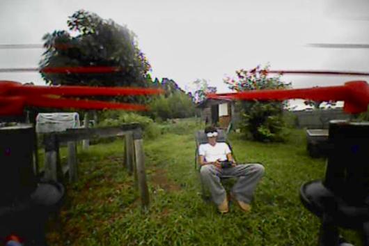Eachine QX90 FPV Cmaera View