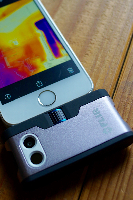 サーモカメラ Flir One for iPhone