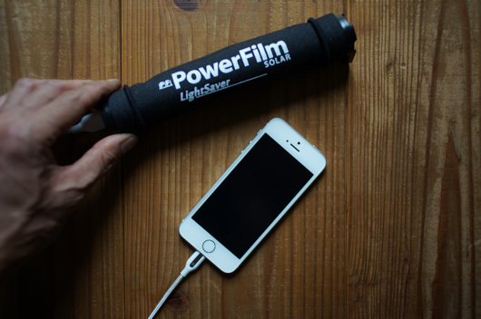 PowerFilm LightSaver Roll Up Solar Charger 3200mAh