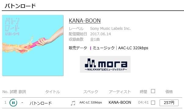 KANA-BOON バトンロード