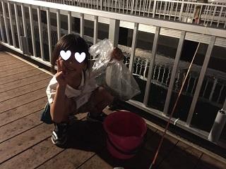 水族館お泊まり夜釣り
