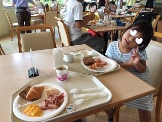 シーパラお泊まり朝食