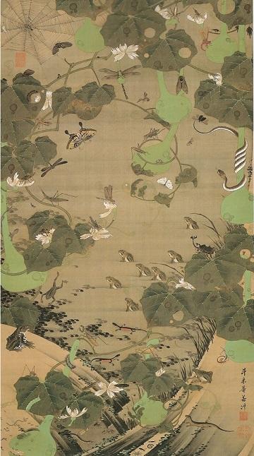 池辺群虫図