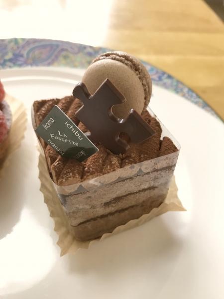 ガトー・ラ・フォセット 結婚記念日ケーキ201705 (7)