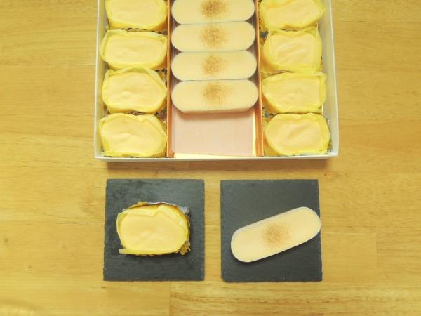 ラグノオ 窯出し半熟チーズケーキとチーズブリュレ (4)