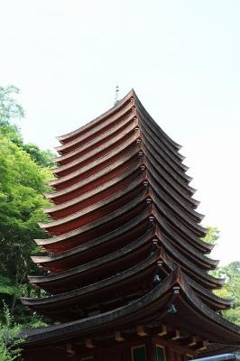 談山神社・十三重塔