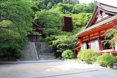 談山神社・けまりの庭
