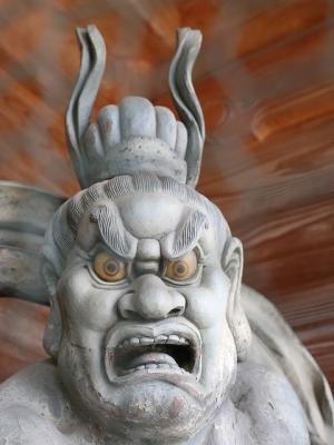 久米寺・阿形像