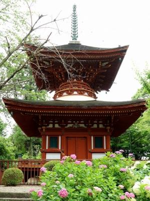 久米寺・多宝塔