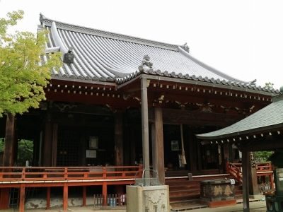 久米寺本堂