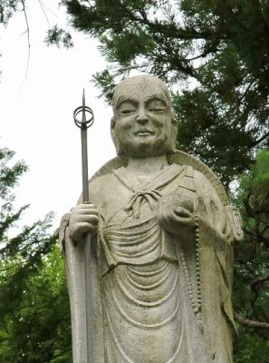 久米寺・弘法大師像