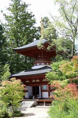 円成寺・多宝塔