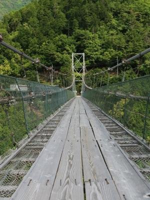谷瀬の吊り橋5