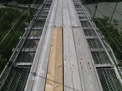 谷瀬の吊り橋7