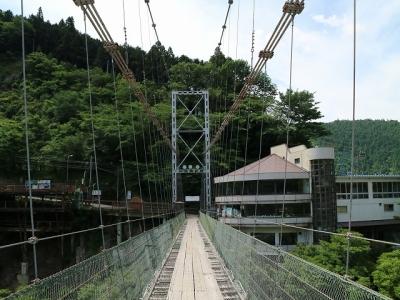 谷瀬の吊り橋12