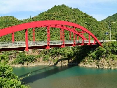 十津川村の橋