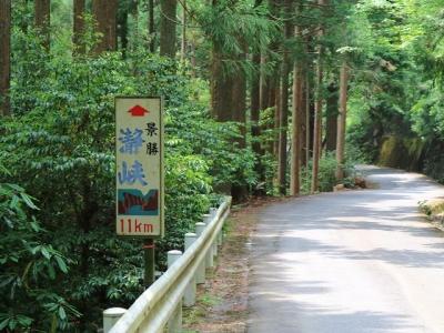 瀞峡への道