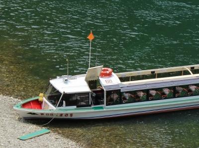 瀞峡・ウォータージェット船
