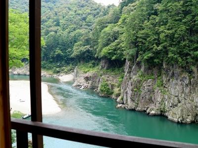 瀞ホテルからの眺め