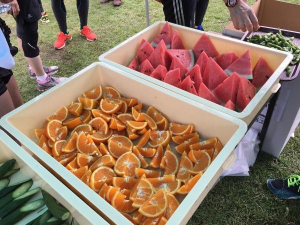 2017-07-16 スイカとオレンジ