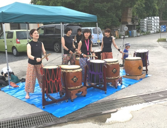 2017-07-16 6乙女太鼓