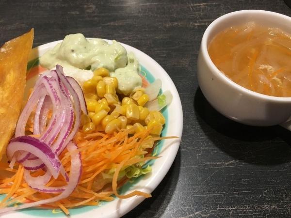 2017-07-19 サラダとスープ