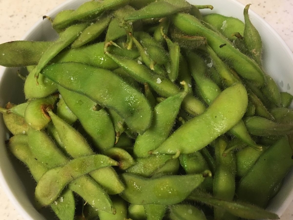 2017-08-20蒸し枝豆