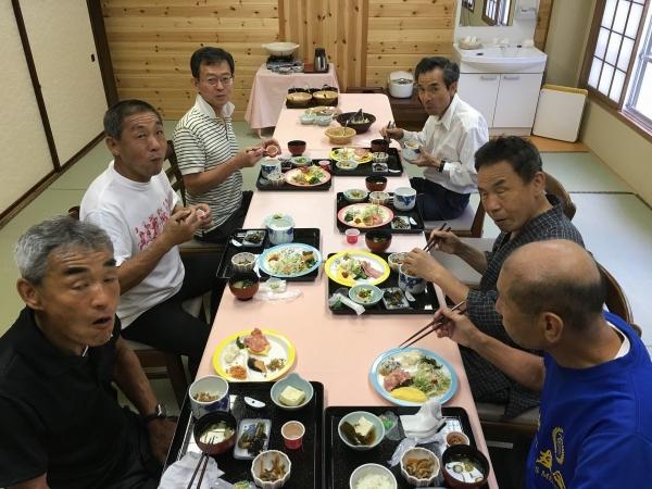 2017-09-17 朝食の様子