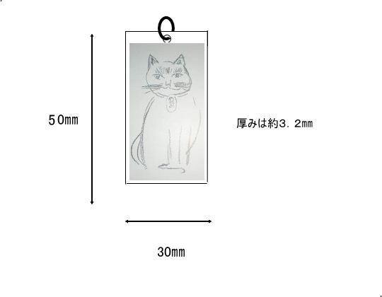 猫 ネックレス シルバー
