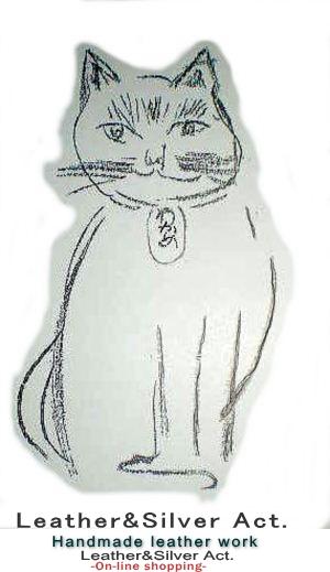 猫 ネックレス