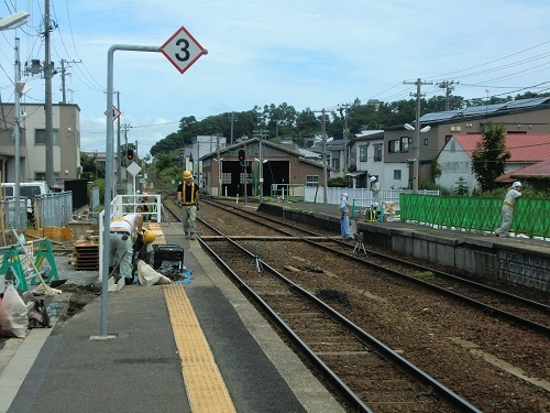 002鯵ケ沢駅
