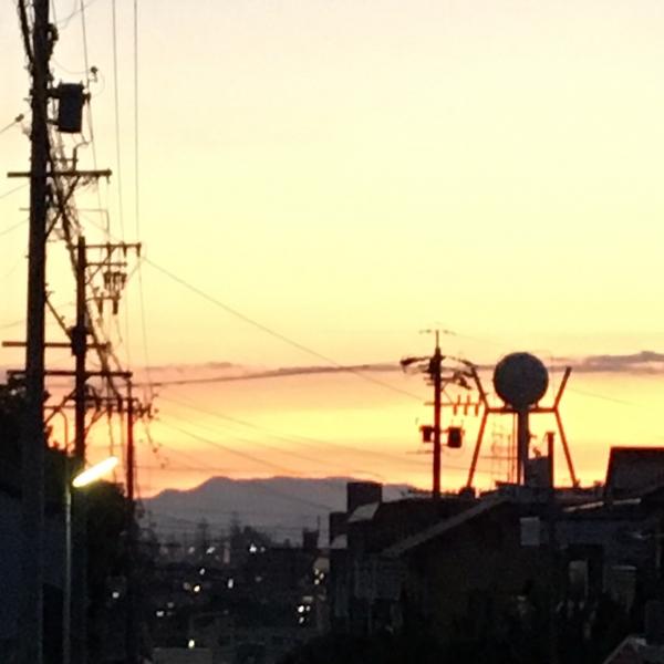 0903夕焼け