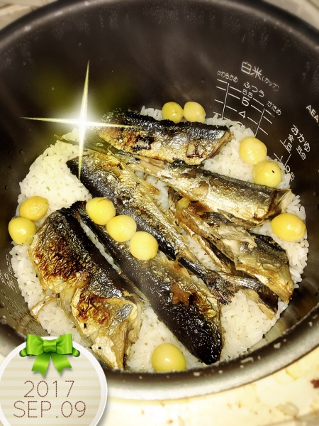 0909秋刀魚メシ