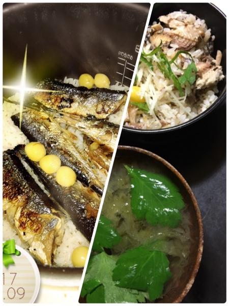 0909秋刀魚ごはん