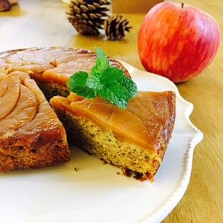 20170915りんごのケーキ