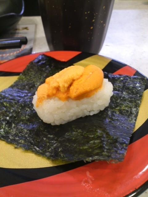 かっぱ寿司で昼のみ