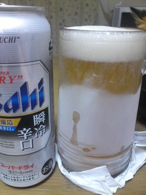 アサヒ スーパードライ 瞬冷辛口 30周年特別醸造