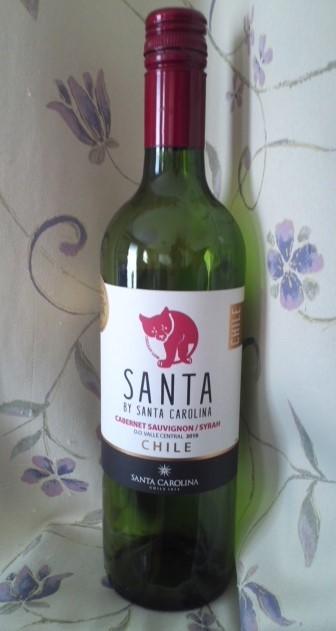 SANTA BY SANTA CAROLINA CABERNET SAUVIGNON/SYRAH(サンタバイサンタ カロリーナ カベルネ・ソーヴィニョン/シラー)