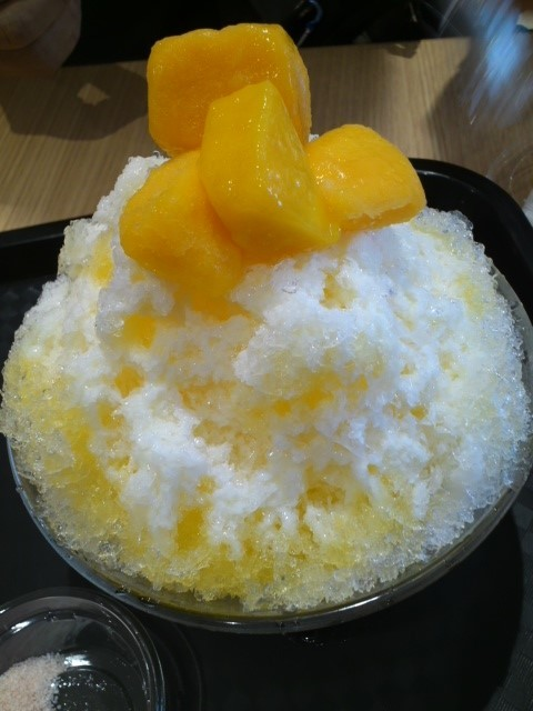 ピッコリーのマンゴーかき氷