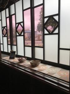 大正ロマンの窓(函館旅行)