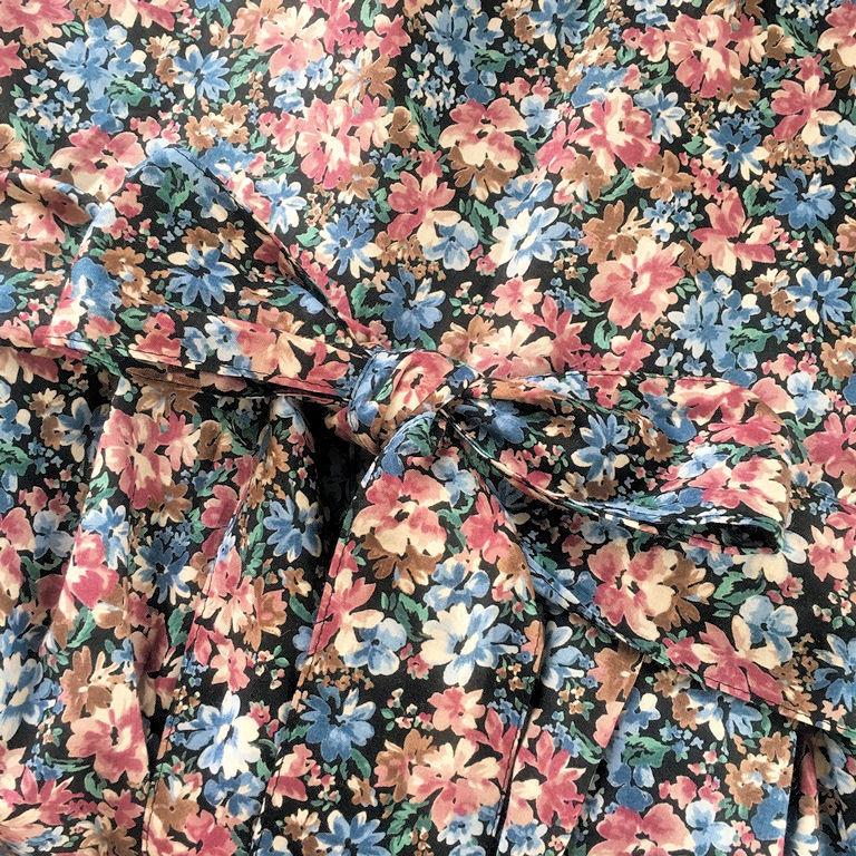 花柄サロペット3